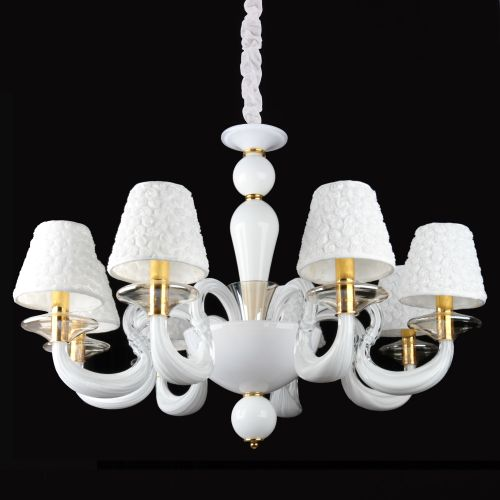 Светильник Crystal Lamp D1489-8WH
