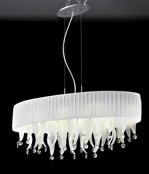 Светильник Crystal Lamp D1681-8WH
