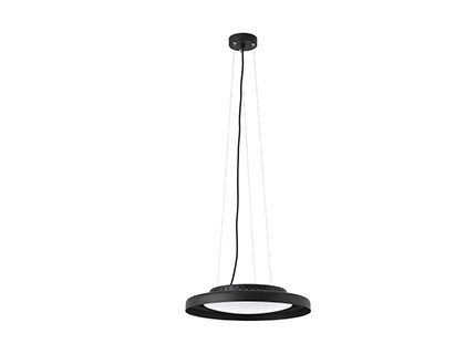 Светильник Faro Barcelona DOLME LED Black pendant lamp