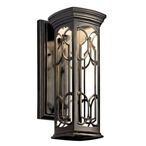 Светильник Kichler Franceasi 14.5 Outdoor Wall LED in Olde Bronze