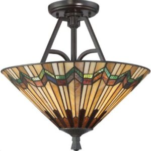 Светильник Quoizel Alcott 2 Light Large Semi Flush