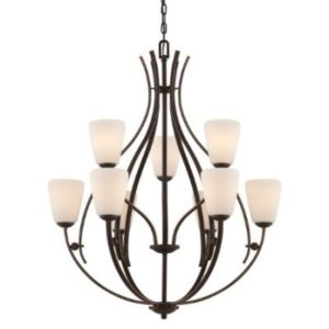 Светильник Quoizel Chantilly 9 Light Chandelier